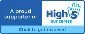 High 5 Our Carers project logo